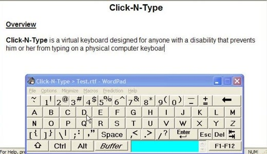 The Vital Keyboard Software.