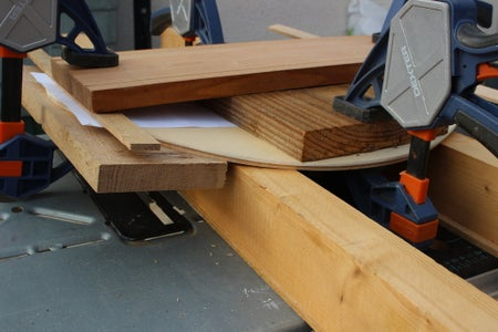 Seat Plywood Support