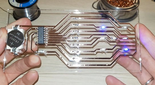 Creating Easy Glass Circuit Boards at Home
