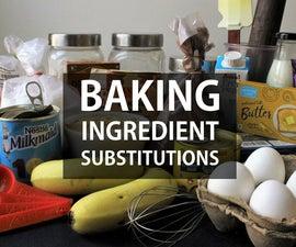 简单的烘焙替代品指南