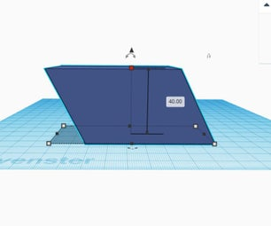 Solid Geometry (maths) With TinkerCAD - the Volume of a Parallelepiped