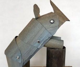 废金属犀牛