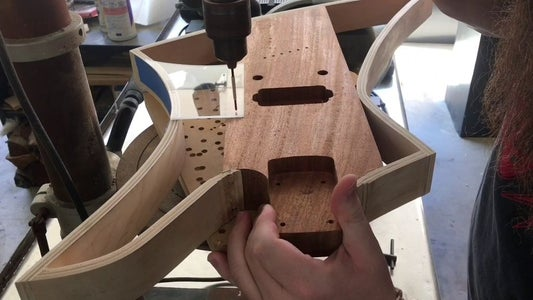 Making a Pickguard