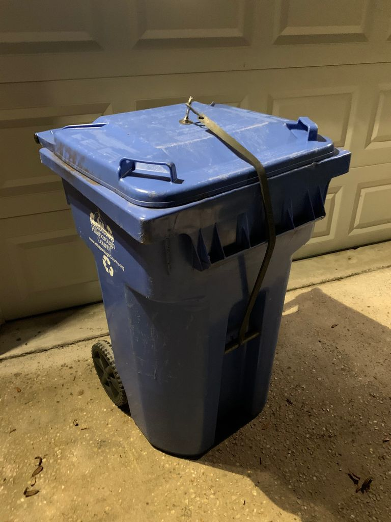 Picture of The Trash Protector (Raccoon Resistance!)