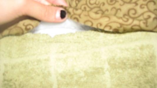 Preparing the Towel