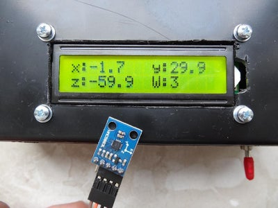 Measuring Weak Magnetic Fields Including a DIY Compass