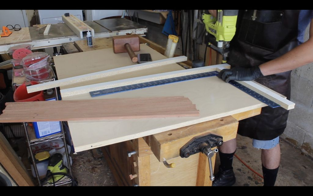 Picture of Tambour Door and Back Panel