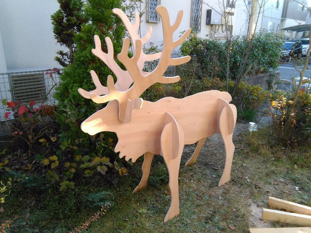 Picture of Plywood Reindeer