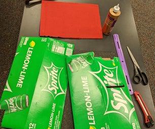 Repurposed 12 Pack: a DIY Laptop Sleeve