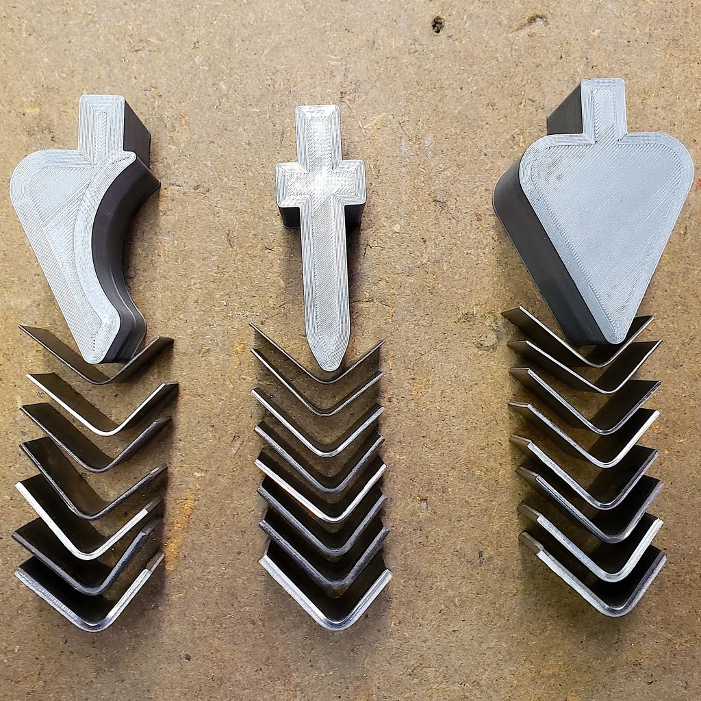 Picture of 3D Printed Press Brake Forming Tools