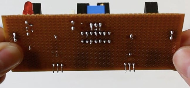 Soldering the Components to Fix Them on PCB Board