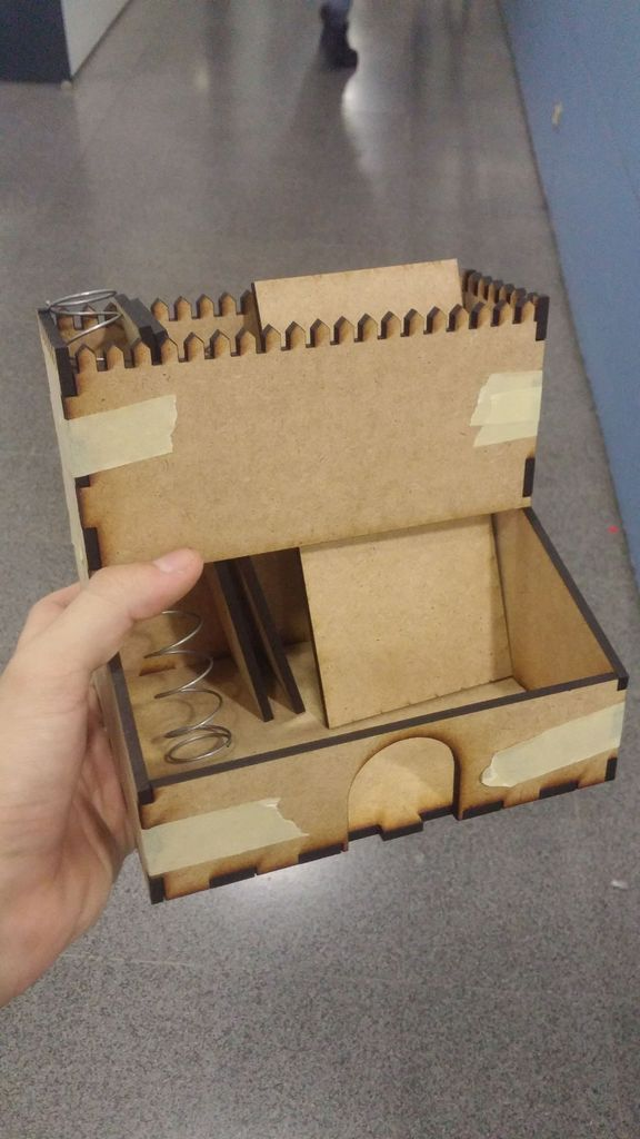 Picture of Laser Cut and Drop System
