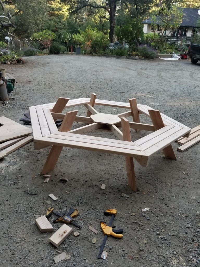 Picture of Cut and Attach Table Legs