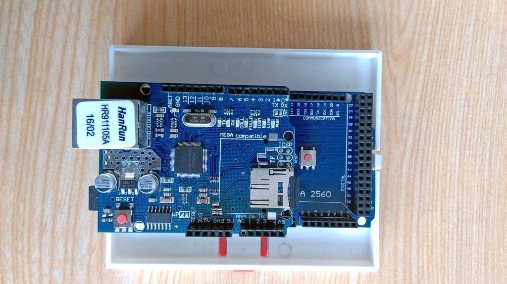 Picture of DIN Enclosures for Arduino MEGA and Relays