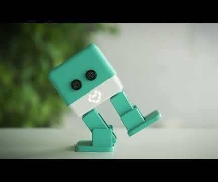 Arduino Otto Robot With State Machine