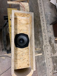 Now the Subwoofer, Mostly Same As the Sat.