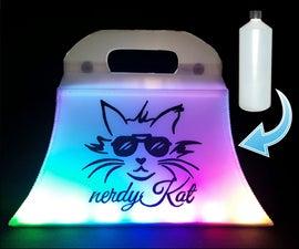 LED HDPE Plastic Handbag