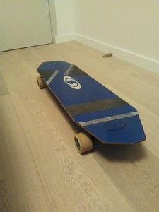 Longboard From a Snowboard