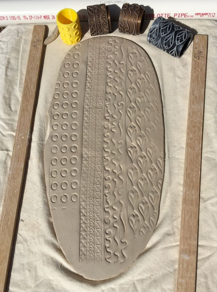 Picture of Roll Your Texture in Clay