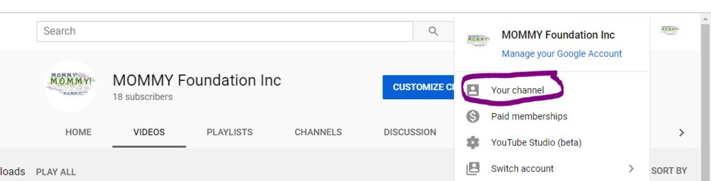 Picture of Go to YouTube Channel