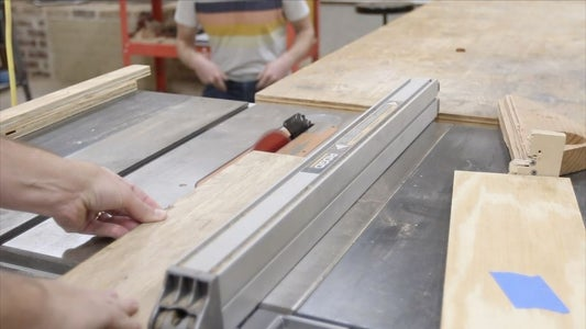 MAKING THE DRAWER FRONT