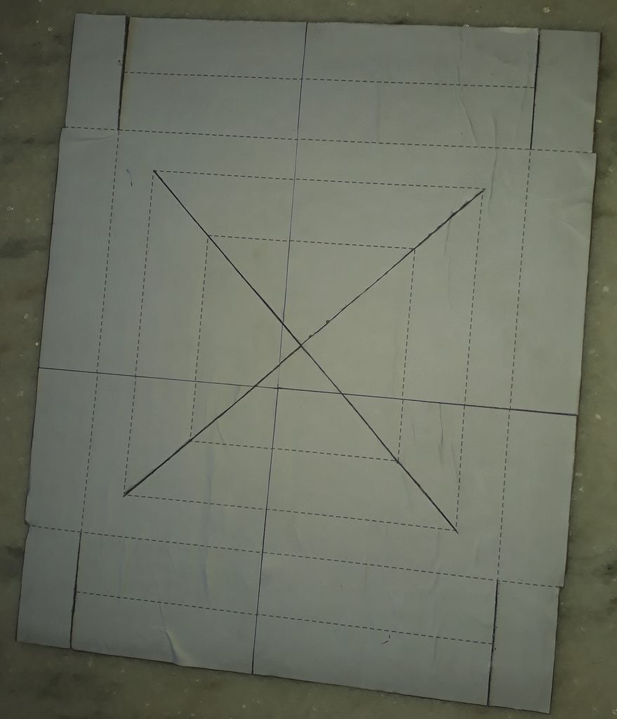 Picture of Cardboard Cutting and Pasting
