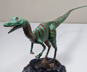 Sculpt a Life-size Dinosaur