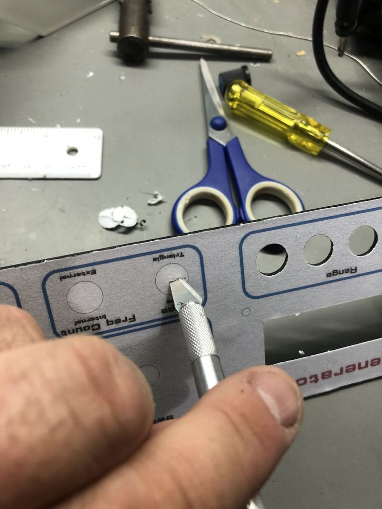Picture of Trim and Cut Out Using a Craft Knife