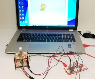 Makey Makey Joystick From Spring Door Stop