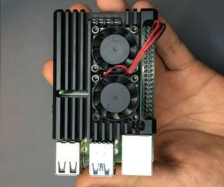 Smart Control of Raspberry Pi Fan Using Python & Thingspeak