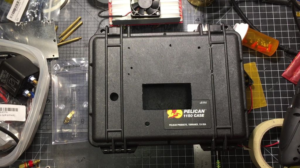 Picture of Prep the Pelican 1150 (cut Out and Drill)