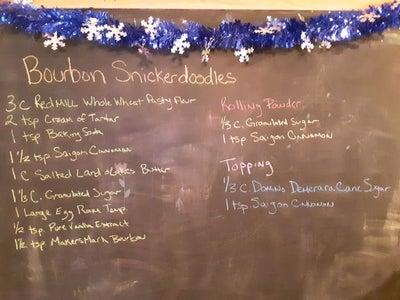 Bourbon Snickerdoodle