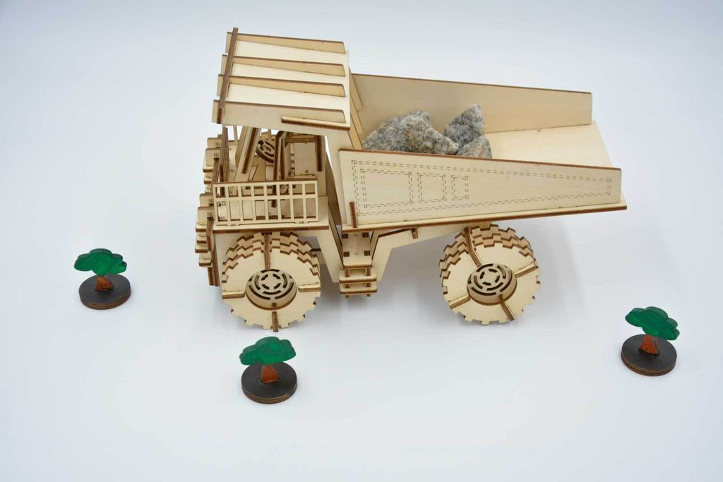 Picture of How to Make a Mining Truck