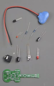 After We Soldered All the Details, Our Product Can Be Tested.