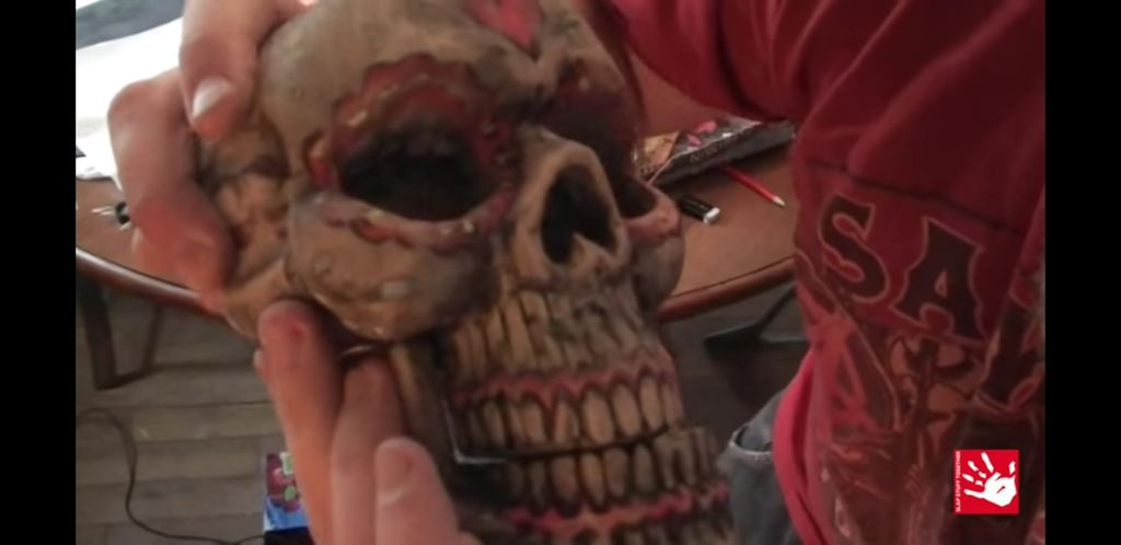 Picture of Painting the Skull