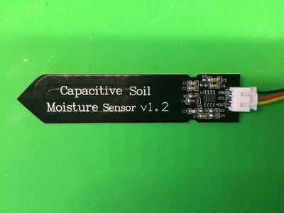 Get a Capacitance-based Soil Moisture Sensor and Test