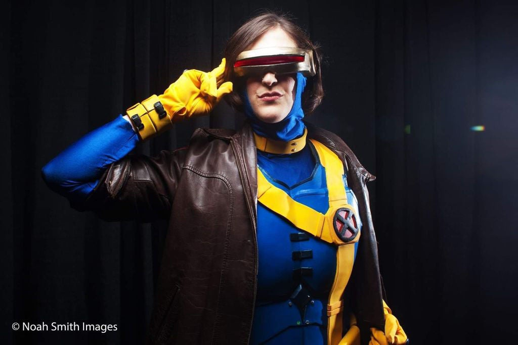 "Picture of How to Make an X-Men ""Cyclops"" Costume"