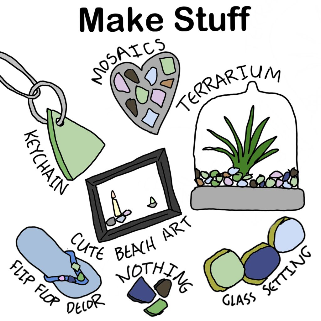 Picture of Make Things With Sea Glass!