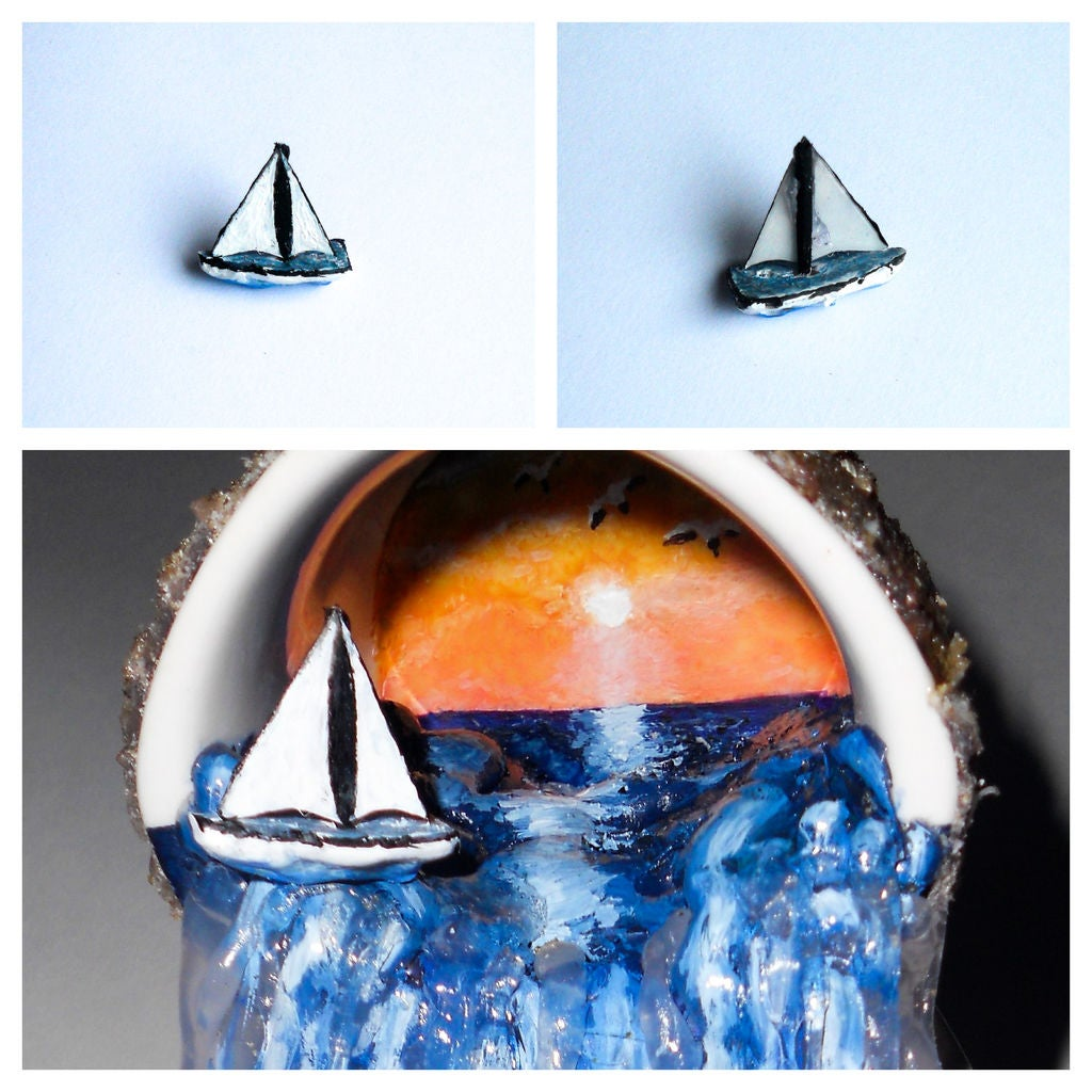 Picture of Making the Coral and the Miniature Yacht