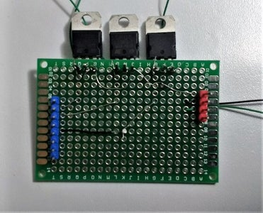 Create Your Permanent Circuit: Step 3 - Connect Resistors and Connecting Wires