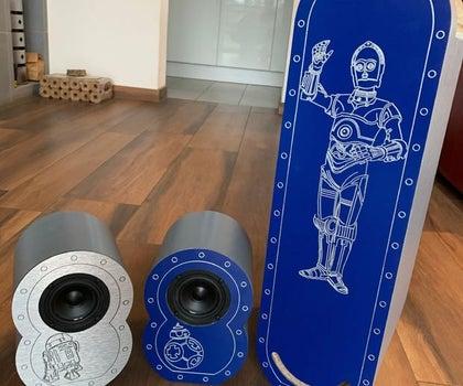 DIY Audio Speaker 2.1 System