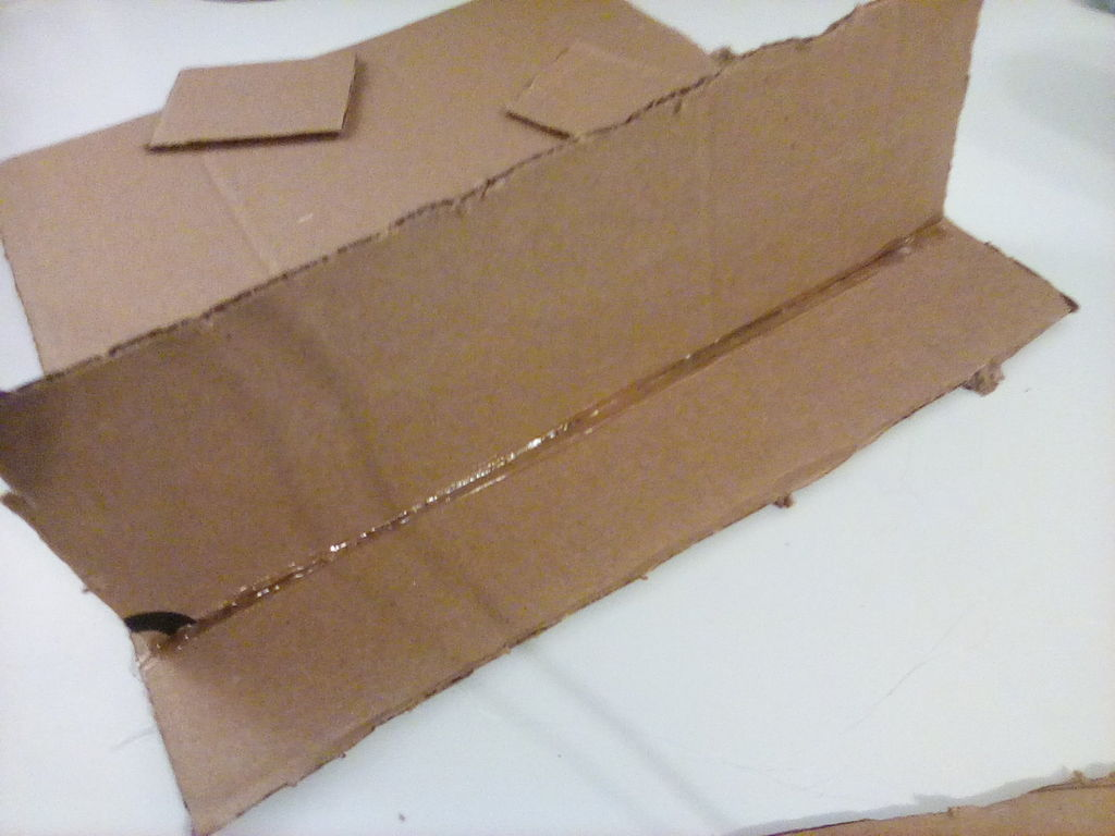 Picture of Dimensions of the Cardboard Pieces
