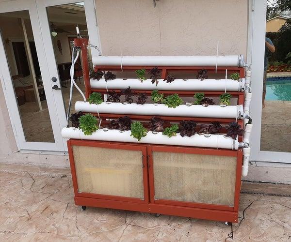 DIY Outdoor NFT Hydroponics System