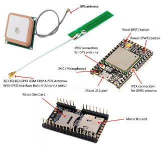 A9 GSM GPRS Pudding Board AT Commands and Firmware Update