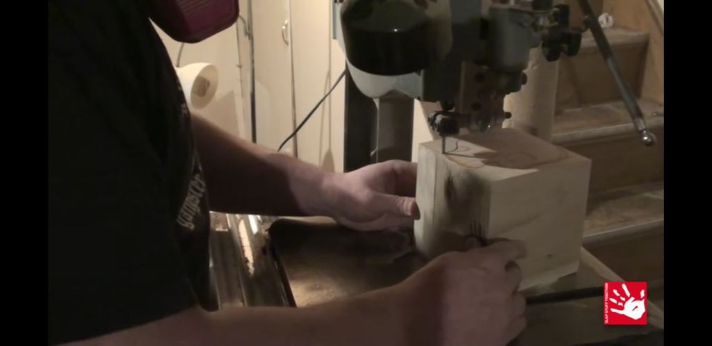 Picture of Carving the Top Part of the Skull