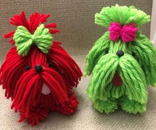 Yarn Dog Shih Tzu