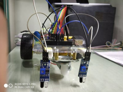 Line Follower Robot Using Arduino