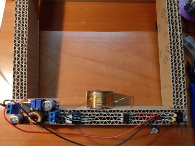 Mount and Solder the Coil and Electronics.