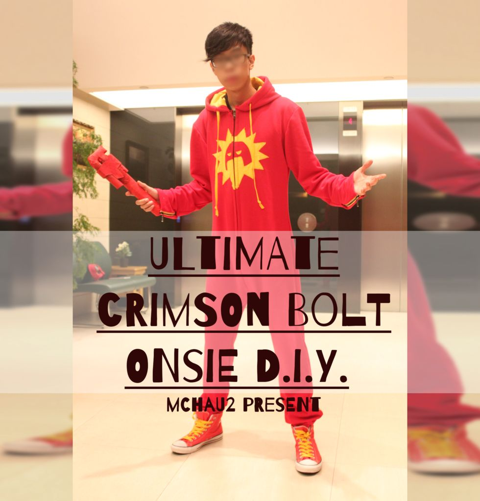 Picture of Ultimate Crimson Bolt Onsie D.I.Y.