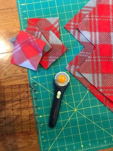 """Cut Out 4"""" Squares From Each Corner"""